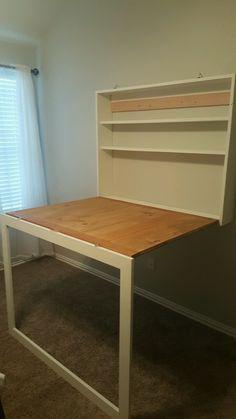 Stefani's Murphy Desk
