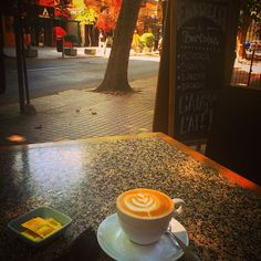 """""""Since Chile doesn't have an enormous coffee culture like other countries in South America, it is important to appreciate the cafés that make quality cappuccinos. Here is the view from my favorite café in Santiago! Good morning Santiago and Happy Monday everyone! ☕️☕️☕️ #santiago #chile #southamerica #visitasuramerica #visitsouthamerica #cappuccino #coffee #cafe #monday #travel #traveling #lifestyle #luxury #luxe #lifeisgood #travelblogger #barista #brewing #darlingescapes #smartertravel…"""