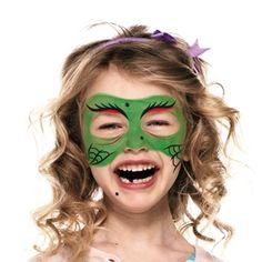Guía de Maquillaje de Bruja Verde| Snazaroo.es