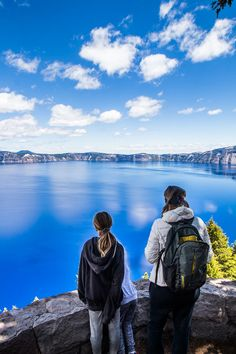 Crater Lake National Park in Oregon is stunning. Check out this 1 day Crater Lake blog post. #Oregon #nationalparks #roadtrips #craterlake #familytravel