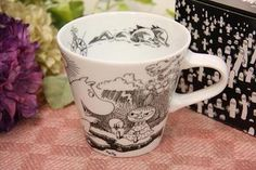 ★ NEW ★ Japanese Moomin mug Cup in 2013 new Moomin & Mii Moomin Mugs, Moomin Valley, Tove Jansson, Marimekko, Mug Cup, Sweet Home, Japanese, Marketing, Tableware