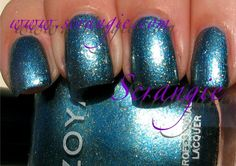 Crystal - Scrangie: Zoya Fire and Ice Collection for Winter/Holiday 2010