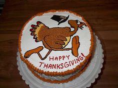thanksgiving cakes, cake idea, cake decor, thanksgiv cake