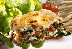 Lasanha vegetariana