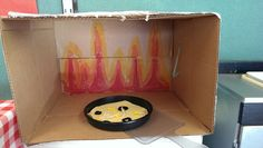 Pizza Restaurant at Pleasant View Preschool - oven to bake pizza.