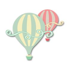 Free SVG File – 06.15.13 – Hot Air Balloon. some fun free designs on this site as well as some very creative unique ones to buy.