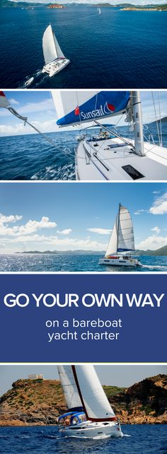 Charter a yacht in one of 25 worldwide destinations. Plot your route in epic sailing grounds from Spain to the Seychelles.