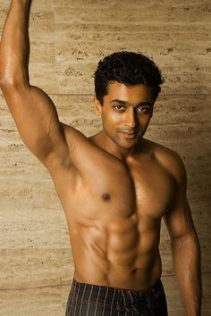 12 Incredibly Attractive Men That'll Make You Very Interested In South Indian Cinema Indian Bodybuilder, Surya Actor, Six Pack Abs Men, Abs Workout Routines, Fitness Workouts, Fitness Motivation, Celebrity Workout, Celebrity Fitness, How To Get Abs