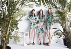 Tropical Campaign: ZARA spring 2014
