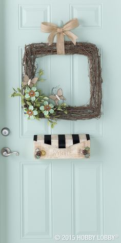 Boutique-style décor at the touch of a hot glue gun? You bet. Just adhere ready–made embellishments to everyday items and say hello to easy-breezy home décor!