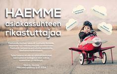 MYYNTIPÄÄLLIKKÖ Omaatko ERP- tai dokumenttiautomaatiotuntemusta? Entä intoa ratkaisumyyntiin? Kofax-myyntipäällikön tehtävässä voit laittaa osaamisesi käyttöön! Lue lisää www2.festum.fi/ratkaisu ja tartu tilaisuuteen. Hakuaika 11.12.2014 asti.