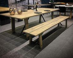 Another new table from the SPEKVA collection. #imm #interior #interiordesign #home #homedecor #handmade #wood #woodenworktops #design #designer #designkitchen #dining #diningset #diningroom #table #spekva by spekva_europe