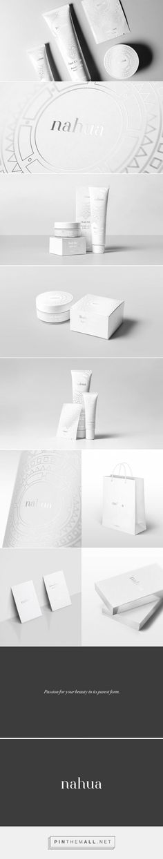 Nahua Cosmetics — The Dieline - Branding & Packaging - created via pinthemall.net