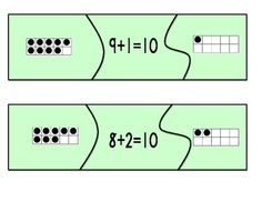 Here's a set of self correcting puzzles for ways to make 10.