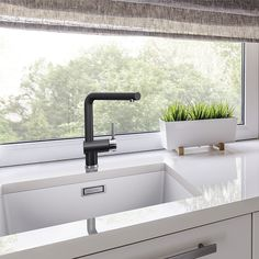 Blanco Subline sink and Blanco Linus faucet