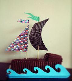 pirate cake - birthday party - kids