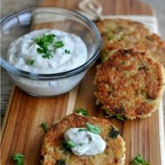 Tuna Quinoa Broccoli Patties #healthy #recipes