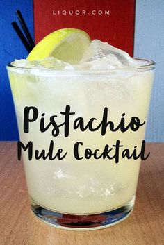 This re-vamped version of the classic Moscow mule #cocktail is refreshing and delicious