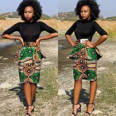 Peplum mini ~African fashion, Ankara, kitenge, African women dresses, African prints, African men's fashion, Nigerian style, Ghanaian fashion ~DKK