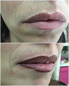 Contorno labbra con riempimento - pigmenti biotek