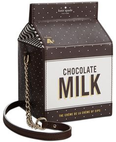 kate spade new york Crème de la Dipped Milk Container Crossbody - Crossbody & Messenger Bags - Handbags & Accessories - Macy's