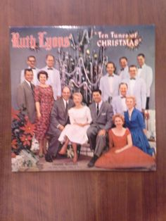 Ruth Lyons - Ten Tunes of Christmas 50-50 Vinyl LP from $595 Vinyl Music, Lp, Christmas, Yule, Navidad, Xmas, Christmas Music, Natal, Noel
