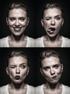 Playful Celebrity Portraits Reveal the Goofier Side of the Famous