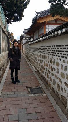 La calle más estrecha que hemos visto en Seúl #descubriendo #nuevasemociones