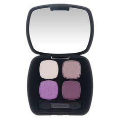 The Best Shadows and Liners for Every Eye Color - Blue Eyes - bareminerals eyeshadow quad in The Dream Sequence
