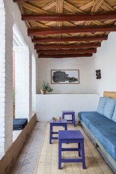 Una #casa marroquí con mucha influencia bereber.