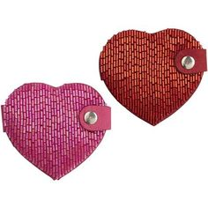 Beaded Heart Compact Mirrors $8.00 Makeup Stuff, Compact Mirror, Mirrors, Packaging, Heart, Mini, Makeup Things, Wrapping, Mirror