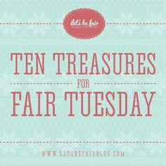We found so many amazing #fairtuesday gifts that we had to make multiple lists! Come see our fair favorites at www.letsbefairblog.com