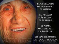 Madre Teresa....05 09 14. Viernes