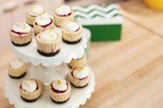 Bri Emery's Cranberry-Orange Mini Cheesecakes Recipe - Kraft Recipes (baking recipes cupcakes mini cheesecakes) Mini Cheesecake Recipes, Best Cheesecake, Cupcake Recipes, Cupcake Cakes, Dessert Recipes, Cupcakes, Desserts, Classic Cheesecake, Cheesecake Bites