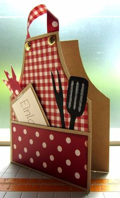 Fab cooking inspired card design for #FathersDay! Adapt it for Mothers Day and Birthdays too.: