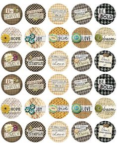 Inspirational Sayings Bottle Cap Images from Bottle Cap Co offering a large  supply of different images for different bottle cap jewelry crafting  projects. 92d419208dda
