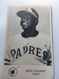 Nate Colbert, Padres, baseball, autograph | Sports Mem, Cards & Fan Shop, Sports Trading Cards, Baseball Cards | eBay!