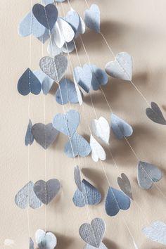 Blue Valentine, Paper Garland