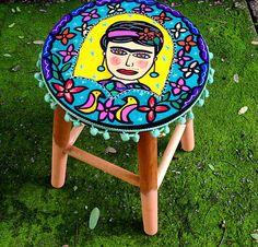 Frida www.juamora.com ateliejuamora@gmail.com #banqueta #stool #juamora #frida #decor