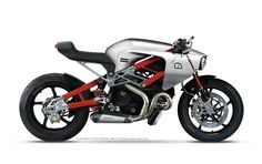 After 20 years, What would the Bimota Mantra makes today.  Con un chasis de aluminio DB8 y un motor Ducati Monster 1200S. caferacerpasion.com