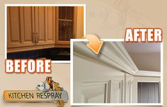 com is the answer to all of your kitchen resurfacing needs.You can actually save up to by Resurfacing / Respraying your kitchen instead of replacing it. New Furniture, Painted Furniture, Kitchen Respray, Skimming Stone, Design Consultant, Kitchen Remodel, Restoration, Home Decor, Painting