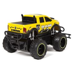 1:24 Ford F-150 Remote Control Truck by World Tech Toys, Yellow