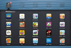 phonic apps    I've spent far too much of the last couple of long weekends searching for, and trying out, new iPad apps for teaching early reading and spelling. Every time I do this, I feel very sorry for p…