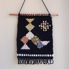 Weaving Wall Hanging / Hand Woven Wall by MelissaJenkinsDsgns