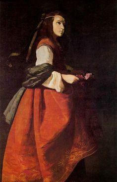 Francisco de Zurbaran, St. Casilda