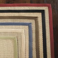 Seagrass Rug  Use of a Rug Pad is recommended. Runner size!  Blue Border Seagrass Rug RR487  $79.00