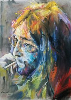 great artwork by GI Hyeon Kwon from John Lennon 'Imagine If You Can'