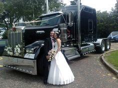 """Big Rig""  .... truckin' to your wedding"