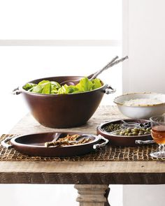 Bamboo Collection Serveware by ATTICUS at Neiman Marcus.