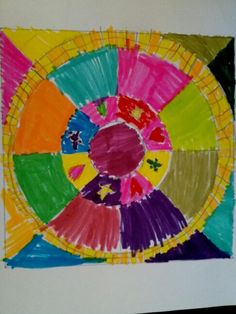 Mandala Colomba